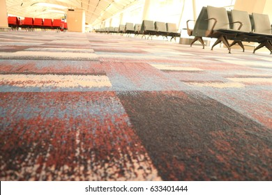 12a76f612381 Airport Lounge Emply Chairs Stock Photo (Edit Now) 633401456 ...