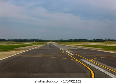 Airport on the runway in airport is the international air gateway