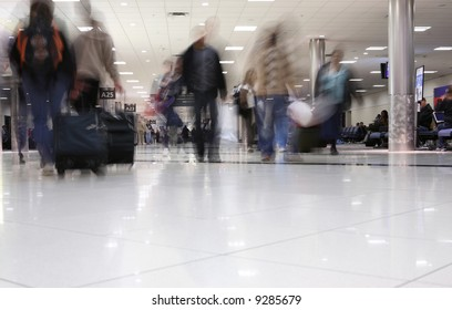 Airport people movement theme