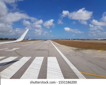 Airport runway Fortaleza, Ceará – Brazil