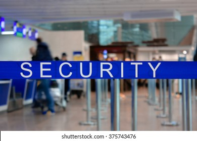 Airport security. Checkpoint. Passenger.
