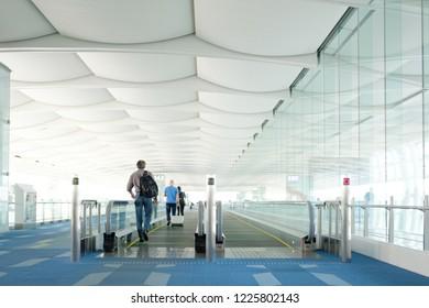 Airport Terminal in Japan.