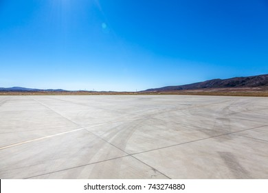 Airport under blue sky in China