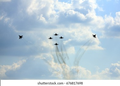 Airshow Russia, Moscow, Zhukovsky.