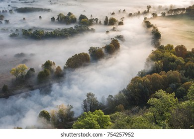 Airuno, Lecco province, Lombardy district, Italy, Europe. Autumnal atmosphere in Adda River.