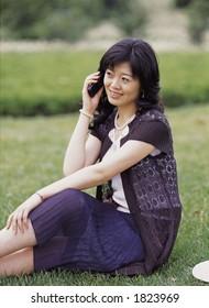 Aisan Young Woman