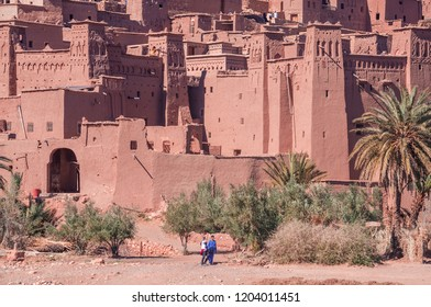 Ait Ben Haddou, a UNESCO world heritage site in Morocco