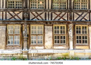 Aitre of Saint-Maclou in Rouen, France