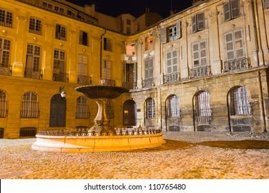 Aix-en-Provence - Place d'Albertas