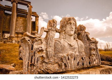 aizanoi antique city. zeus temple Kütahya / Turkey