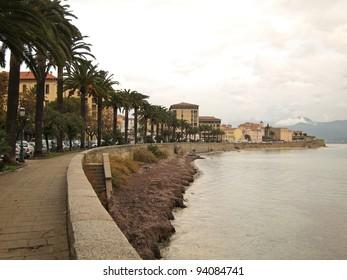 Ajaccio on Corsica