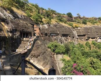Ajanta caves Maharashtra India