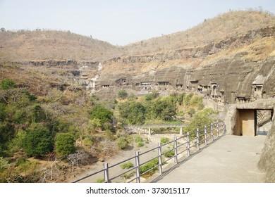 Ajanta Ellora caves in Aurangabad city ,Travel location