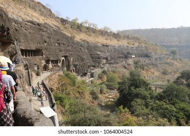 Ajanta & Ellora Caves Facts, Paintings in India