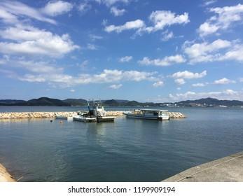 """""""Aji, Takamatsu/Japan-September 16 2018:Aji beach"""""""