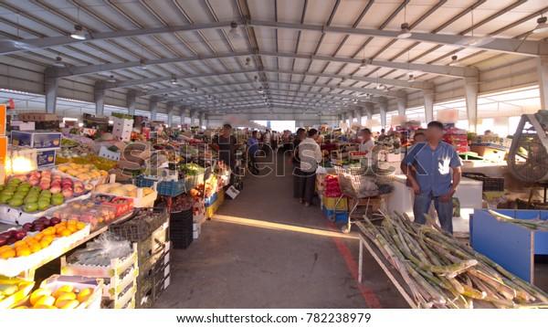 Ajman Uae September 2016 Fruit Market Stock Photo (Edit Now
