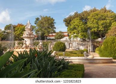 Ajuda botanical garden (Jardim Botanico d'Ajuda). Belem, Lisboa, Portugal