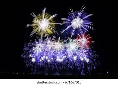 Akagawa Fireworks Festival