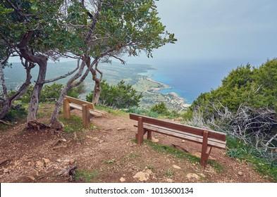 Akamas peninsula national reserve, Cyprus, Paphos district