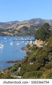Akaroa in New Zealand