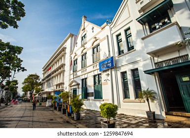 akarta, Indonesia : Old town area in North of Jakarta Indonesia, This is a heritage area from colonial era, become a popular tourist destination with many antique building and museum (12/2018).