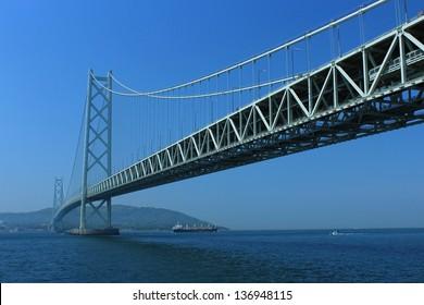 Akashi Kaikyo Bridge in Japan