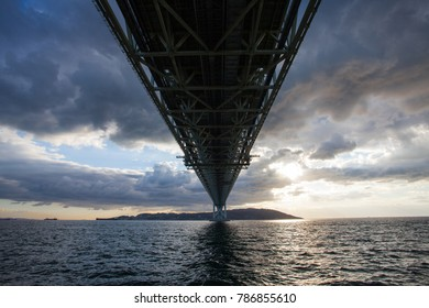 Akashi Strait Bridge, the longest suspension bridge in the world