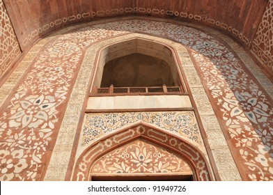 Akbar's Tomb at Sikandra (Agra) in India