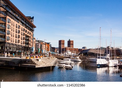 Aker Brygge, neighbourhood in central Oslo, Norway