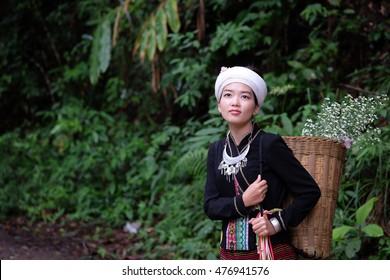 Akha girl  CHIANG RAI, THAILAND