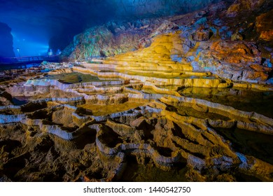 Akiyoshido Cave Yamaguchi in Japan.This is one of Japan's largest limestone caves.
