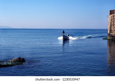 Akko, Israel, Phoenician, Crusader Seaport City, March 5, 1998