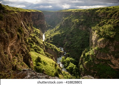 Aksu River Canyon, Aksu-Jabagly natural reserve in Alatau mountains, Central Asia, Kazakhstan