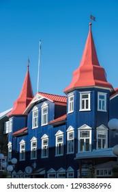 Akureyri in Iceland