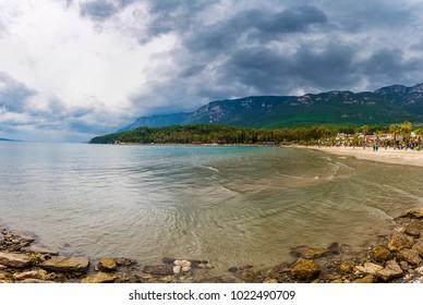 Akyaka Beach view in Turkey