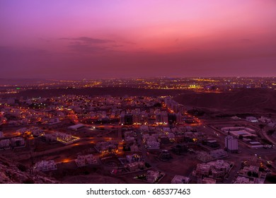 From Al Amerat heights, Muscat, Oman