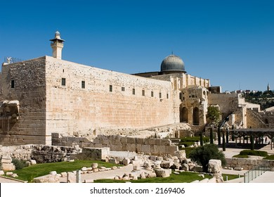 al aqsa mosque in old city of jerusalem, israel