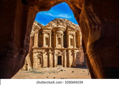 Al Deir - The Monastery, Petra, Jordan