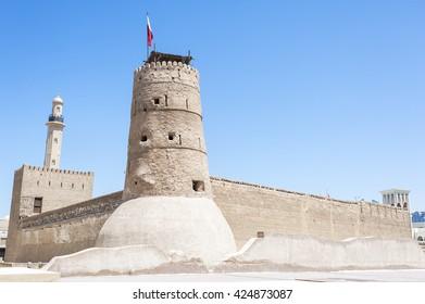 Al Fahidi Fort (1787). Dubai, UAE.