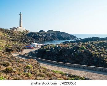 Al faro beach. Ustica Island. Palermo, Sicily