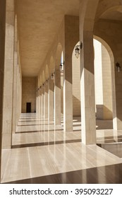 Al Fateh Grand Mosque in the city of Manama, Kingdom of Bahrain, Middle East