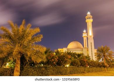 Al Fateh Grand Mosque in Manama. Manama, Bahrain.
