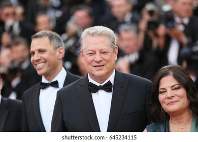 Al Gore attends the 'The Killing Of A Sacred Deer' screening during the 70th Cannes Film Festival at Palais des Festivals on May 22, 2017 in Cannes, France.