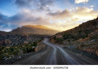 Al Hajar Mountains in Oman