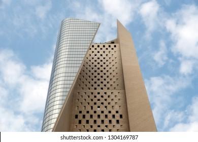 Al Hamra Tower in downtown Kuwait City, taken in Kuwait, December 27th 2018