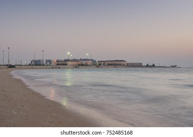 Al Jubail Beach in Saudi Arabia