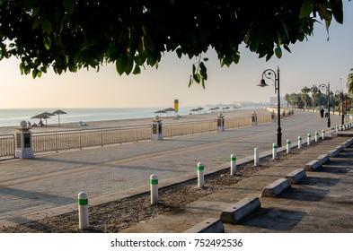 Al Jubail City in Saudi Arabia (Alfanateer Beach)