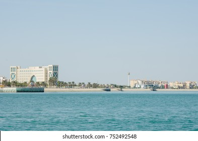 Al Jubail City in Saudi Arabia (Alfanateer District)