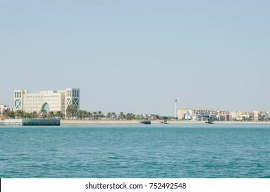 Al Jubail City in Saudi Arabia (Alfanateer District)