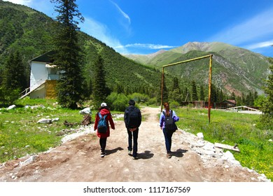 The Ala Archa National Park in the Tian Shan mountains of Bishkek  Kyrgyzstan